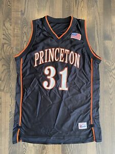 Speedline 2001-02 PRINCETON TIGERS #31 Ray Robins Team Issued Game Jersey XL