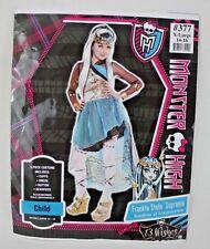 Monster High Frankie Stein Supreme Girls Halloween Fantasy Costume Sz XL 14-16
