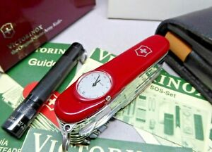 Victorinox SwissChamp SuperTimer 91mm Swiss Army Knife with SOS kit