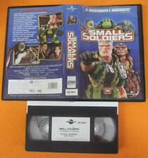 VHS film SMALL SOLDIER 1999 animazione UNIVERSAL 061 045-3 (F150) no dvd