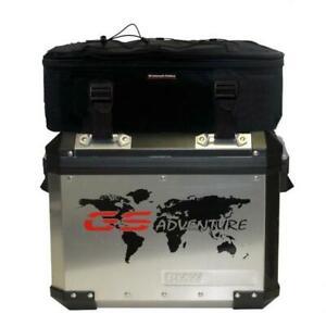 Gepäcktaschen auf Alukoffer R1200GS LC ADV,Additional bags on aluminium pannier