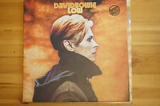 Rare David Bowie Low RCA '81 Red Label YL13856 LP 33RPM Ex Italy Import Ed