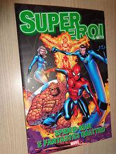 FUMETTO N°29 SPIDER-MAN E I FANTASTICI QUATTRO SUPER EROI SUPEREROI IL MITO