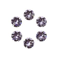 Swarovski 1088 Crystal XIRIUS Chatons Violet Foil Back 6mm SS29 Pack of 6 E96/13