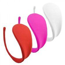3er C-String Set Frauen Uni Slip Mini Micro Bikini Unterhose Dessous S/M/L