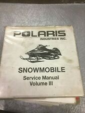 POLARIS  SERVICE MANUAL 95 TO 99