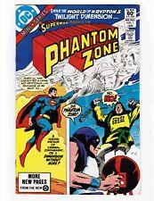 Lot of 3 DC Comics: SUPERMAN Presents the Phantom Zone (Modern Age)