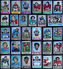 1974 Topps Football Cards Complete Your Set You U Pick From List 1-200