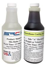 Model-Pro Urethane Casting Resin Liquid Plastic With Dispensing Pumps 32 oz Kit