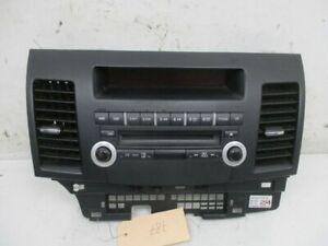 Radio Control Panel Air Nozzle Center Console Bezel Indicator Mitsubishi Lancer