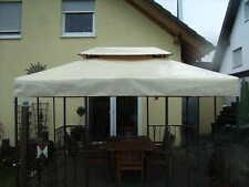 Pavillon Ersatzdach 3x4m aus LKW PVC Plane wasserdicht Pavillondach Dachplane