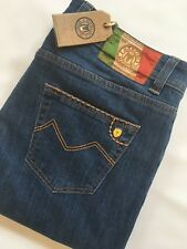 "Mancini Robert Blue Jeans 38"" waist 34"" leg Regular Stretch RRP £199"