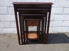 Wooden Antique Nested Tables For Sale | EBay