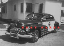 1947 Buick Special California Highway Patrol POLICE car photo CHP