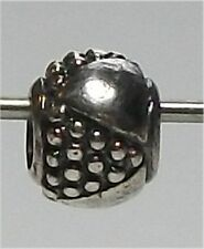 Genuine Sterling Silver TROLLBEADS ETRUSCAN.  New, rare & retired