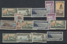 New Zealand 1947 Lighthouse Insurance Collection MH/VFU JK202
