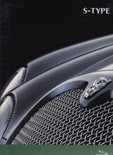 2002 JAGUAR S-TYPE Large Format 70p Prestige Brochure 2.5 3.0 V6 SE 4.2 V8 Sport