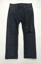 Gap Straight Leg Kaihara Japanese Selvedge Mens Size 33 X 30 Raw Denim Jeans