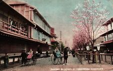 Japan, Cherry Blossom at Yoshiwara, Yokohama, Bordell, Prostitution,  1904