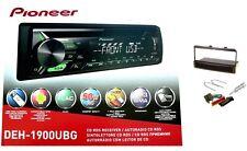 Pioneer deh-1900ubg autoradio AUX CD mp3 USB verde para ford fiesta Focus Mondeo