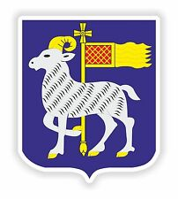 2x Gotland Suecia Escudo De Armas Bumper Stickers Calcomanías