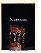 1969 J&B SCOTCH WHISKEY ~  ORIGINAL PRINT AD