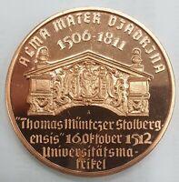 4 Medaillen zum Thema Numismatik