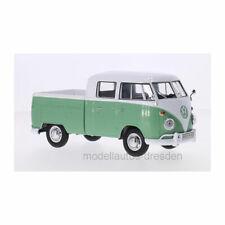 MOTORMAX 79343 Volkswagen Type 2 (T1) Crew Cabin White/Green Scale 1:24 New !°