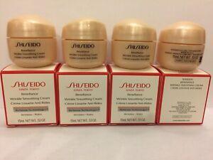 SHISEIDO Benefiance Wrinkle Smoothing Cream Size: 15 ml x 4 (Total: 60 ml)