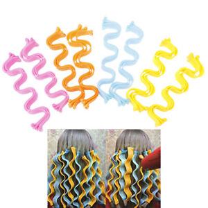 12PCS Beautiful Hair Styling Waves Kit Hairstyle Curler Roller Women Curly H.bu
