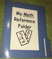 My Math Reference Folder - Homeschooling - Teachers Helper