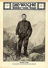 Christian de Wet der Hauptführer im Burenaufstand gegen England von 1914