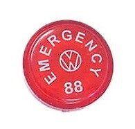 Volkwagen VW Bug Beetle Ghia Thing Emergency Flasher Switch Cap 113255544