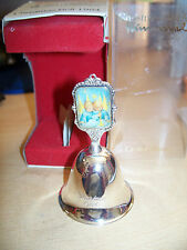 Ars Edition - Collectable Vintage Hummel 1984 Silver Plated Christmas Bell