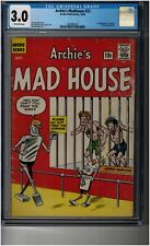 Archie's Madhouse #22 CGC 3.0 - 1st appearance of Sabrina the Teenage Witch