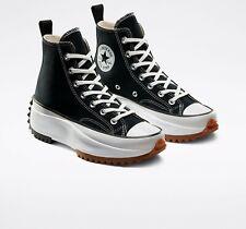 Converse Unisex Run Star Hike High Top Shoes Black/White/Gum 166800C f