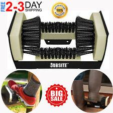Boot Scraper Brush Mat Door Shoe Sneaker Scrubber Cleaner Mud Dirt Floor Rug NEW