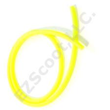 GAS FUEL LINE HOSE NEON YELLOW 99CM+ 2CLAMP GY6 SCOOTER GOKART QUAD KYMCO TAOTAO