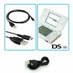 USB Charger Data Sync Cable Charging Lead for Nintendo DS lite NDSL   UK BEST