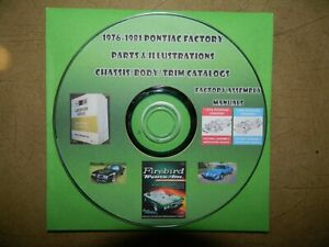 1976 1977 1978 1979 80 81 Pontiac Parts Catalog SET_Firebird/Trans Am/Formula