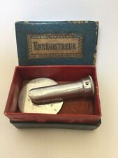 ENREGISTREUR ANCIEN D'ORIGINE PHONOGRAPHE ORIGINAL PHONOGRAPH RECORDER