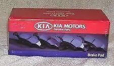 "Genuine Kia Soul 08/2016 Onwards Front Brake Pads With 16"" Wheels -58101-B2A80"