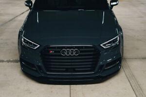 Method Effects Audi S3 Front Splitter 2017 2018 2019 2020 2021 S3 8V Facelift