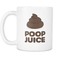 Poop Juice Mug - Funny Poop Mug - Poop Emoji Mug - 11oz Coffee Mug Cup