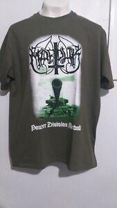 Marduk panzer divisionT shirt black metal 1349 behemoth dark funeral watain