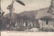 Solomon Islands Buka Island Nova village 1910s PC