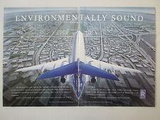 3/1991 PUB ROLLS-ROYCE TAY FAMILY ENGINE FOKKER 100 AIRLINER ORIGINAL AD