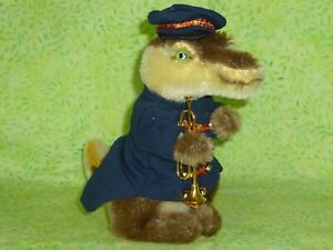 STEIFF Golden Age of the Circus Band-Alligator Limited Edition w/tags Orig VTG