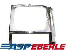 Scheinwerferblende Scheinwerfer Rahmen Chrom links Jeep Cherokee XJ 84-90