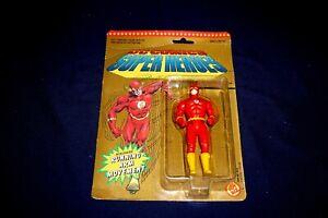VINTAGE DC COMICS SUPER HEROES THE FLASH 5 INCH ACTION FIGURES TOY BIZ 1990